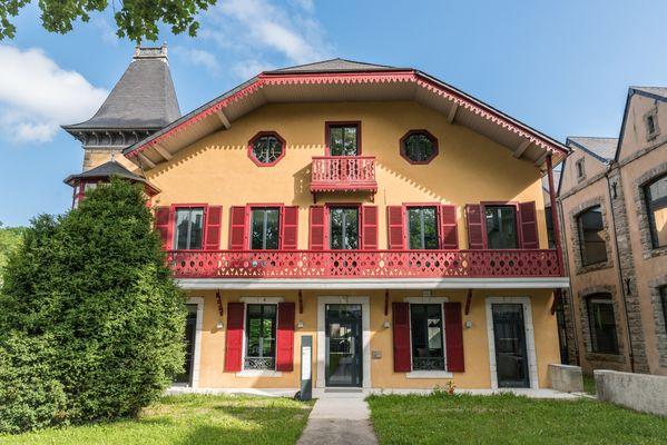 Villa du pays d'art et d'histoire - Façade (Clément HERBAUX)