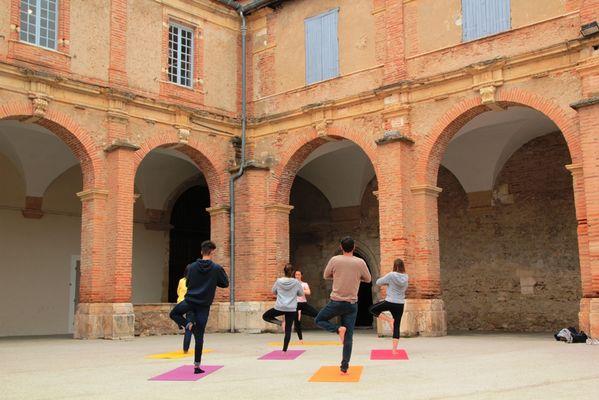 Patrimoine et yoga