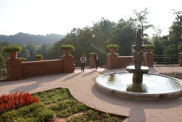 château de Laàs -les jardins