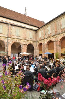 Concert de l'Harmonie pendant l'expo. artisanale