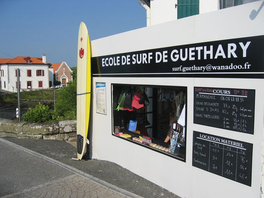 le bureau de Guethary