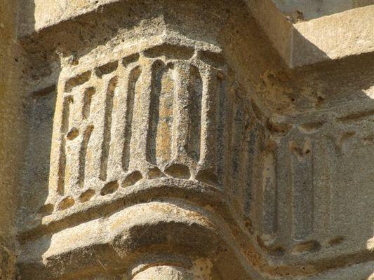 Détails de l'église Saint Jean