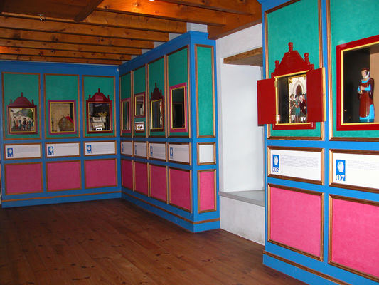 salle reliquaire ecomusee sarrance