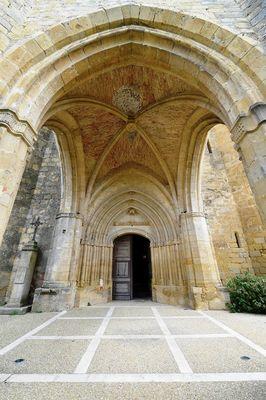 Geaune église porche intérieur