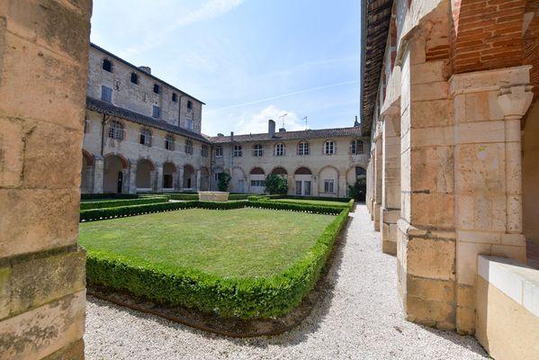 Abbaye cloître