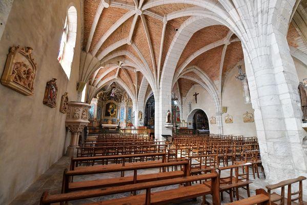 Montaut église Ste Catherine