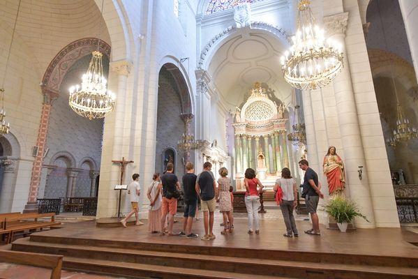 Abbatiale intérieur
