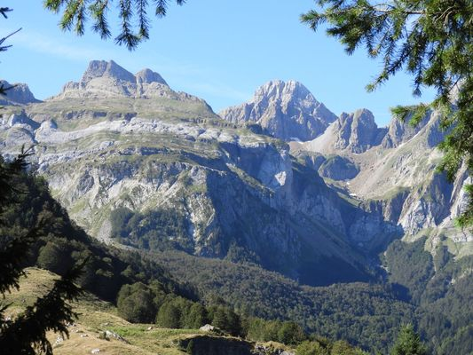 Randonnée en Haut-Béarn