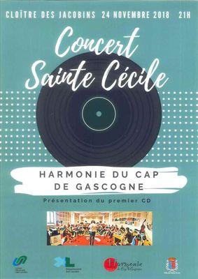 Concert Ste Cécile 2018