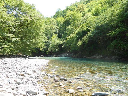 3 La rivière à seulement 20 mètres