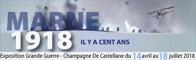 MARNE  1918 - exposition De Castellane