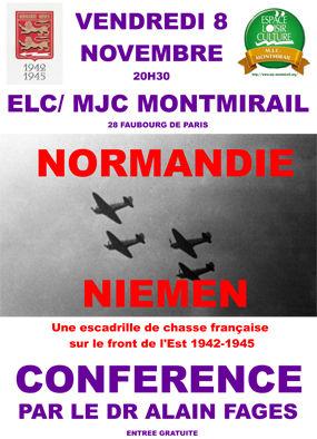 Conférence Normandie Niemen
