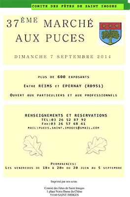 Marché au puces St Imoges 2014