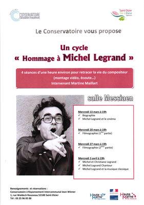 Hommage Michel Legrand