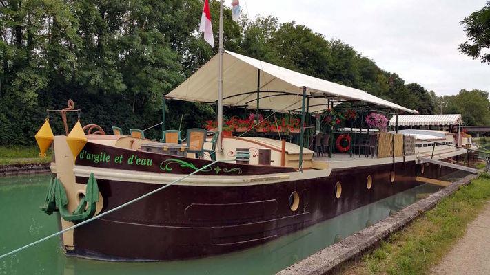 Bateau d'Argile et d'eau - Châlons-en-Champagne