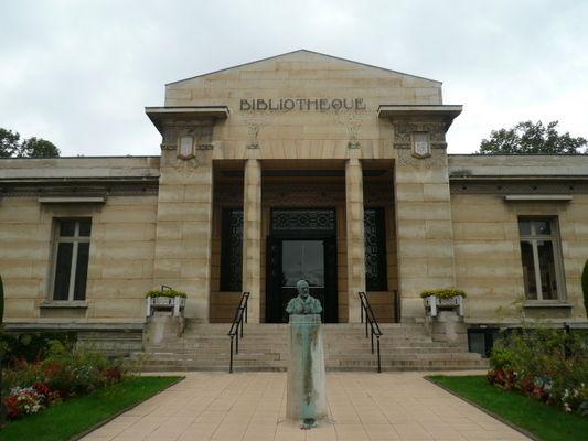 Bibliothèque Carnégie - Reims