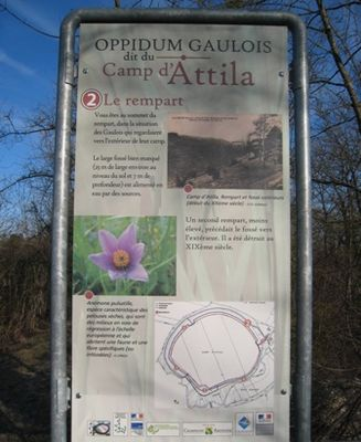 Le Camp d'Attila - La Cheppe