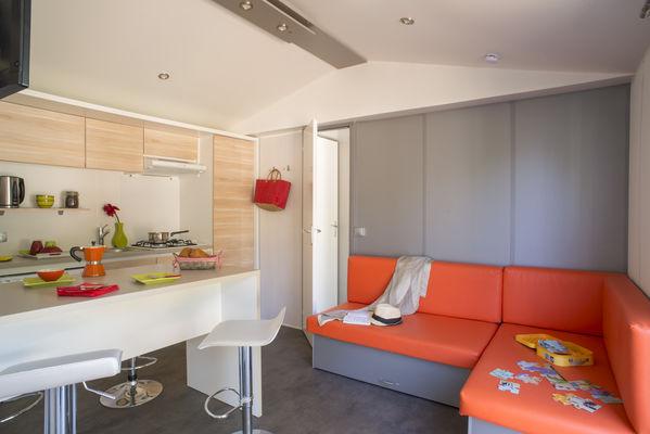 Camping-Yelloh-en-Champagne-Mobil-home-intérieur
