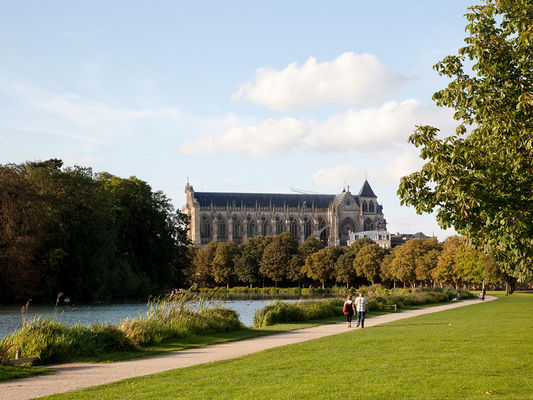 Grand Jard et Cathédrale Saint Etienne