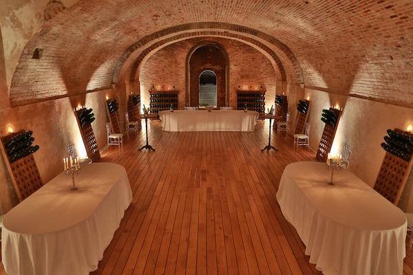 Caveau du Château Comtesse Lafond - Aménagement pour cocktails