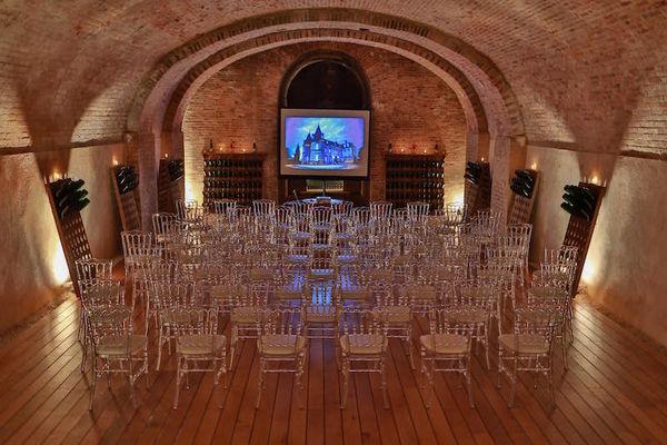 Caveau du Château Comtesse Lafond - Aménagement pour séminaires