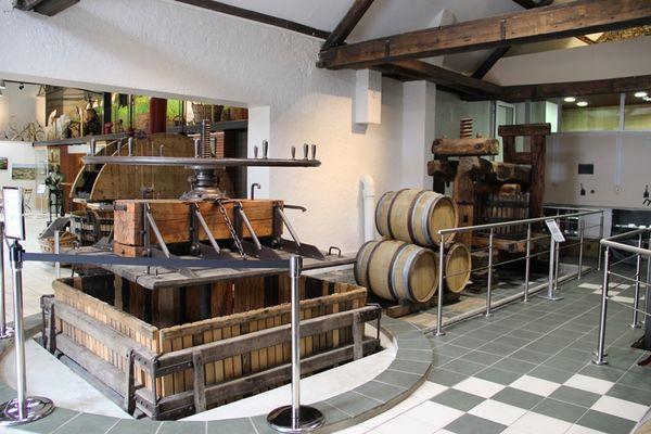 Pressoir du musée