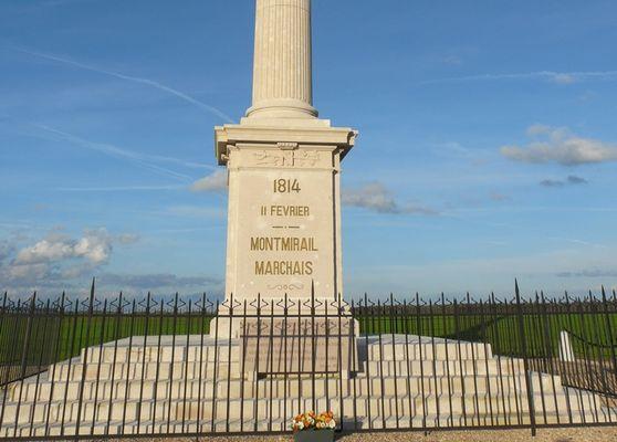 Colonne Campagne de France 1814 - Montmirail