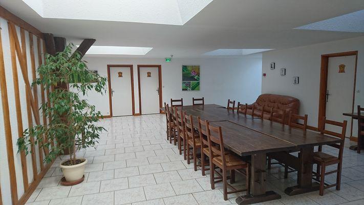 La Ferme du Bocage - Salle de repas - Lac du Der