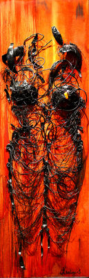 Peinture Ingrid Arestino
