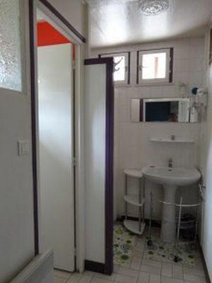 Accés salle d'eau