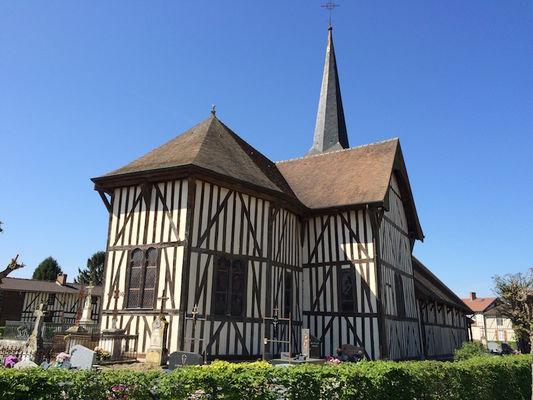 Eglise à Pans de Bois - Outines