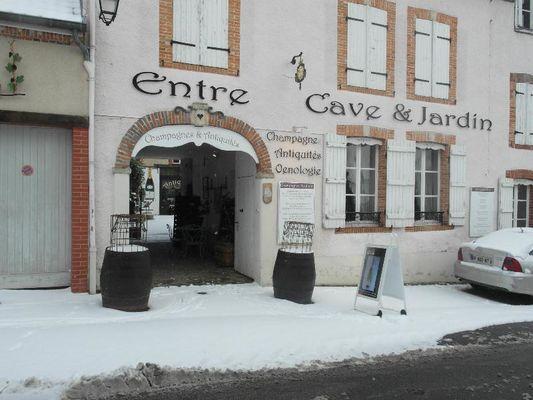 Entre Cave et Jardin - Hautvillers