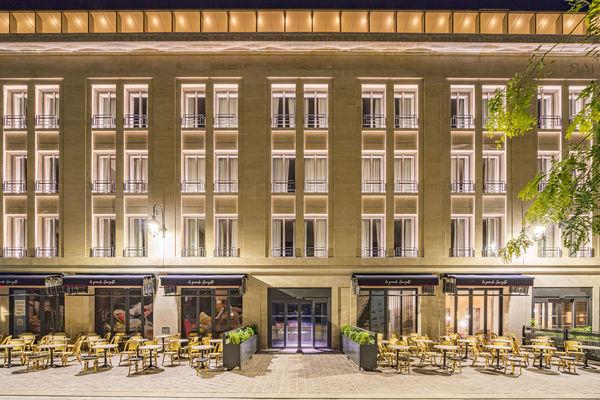La Caserne Chanzy - Reims - Facade-Nuit