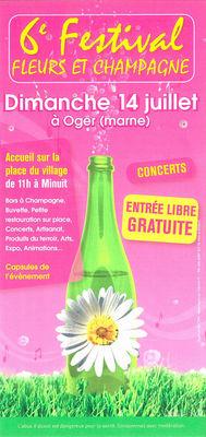 6ème Festival Fleurs et Champagne 2013