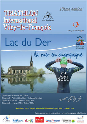 Triathlon International de Vitry le Francois