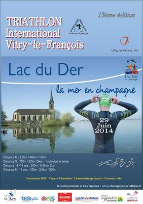 Triathlon International de Vitry le Francois