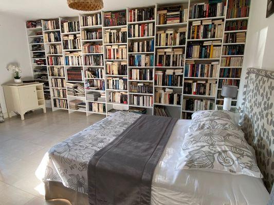 Le gîte du Verger - Chambre bibliothèque