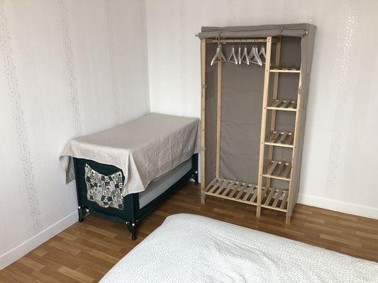 Chez Nono et Soso - Chambre 1 + lit bébé