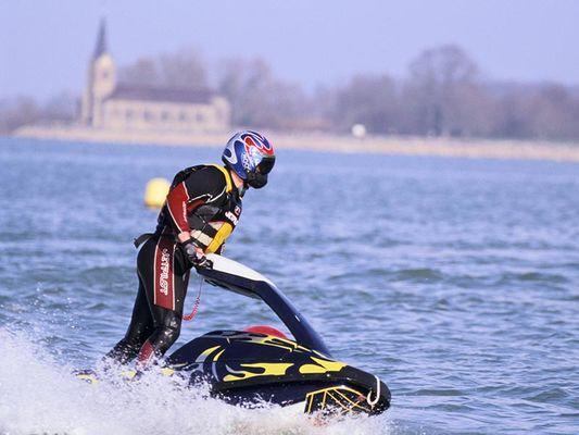 Jet Ski au Lac du Der