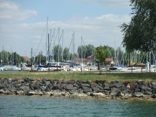 Le Tilleul - Le port de Giffaumont