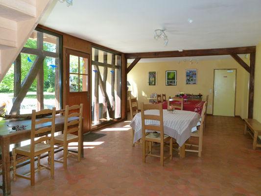 Gite Les Clés d'Emeraude - salle de séjour - Outines - lac du Der