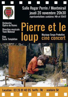 Ciné concert Pierre et le Loup Opéra de Reims