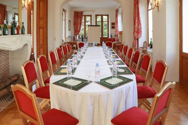 Salon Comtesse Rosé - Aménagement pour séminaires