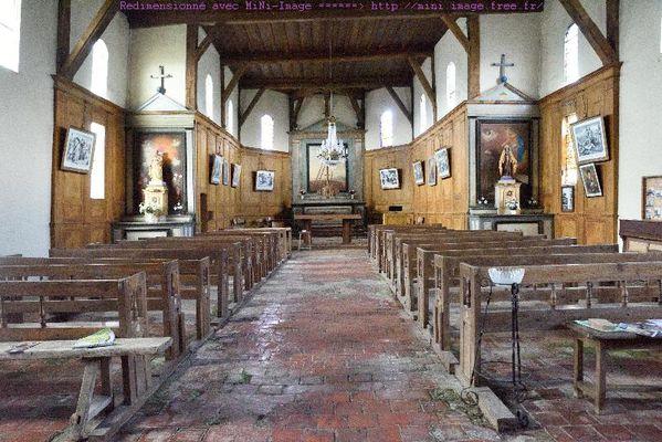église deChâtillon sur Broué