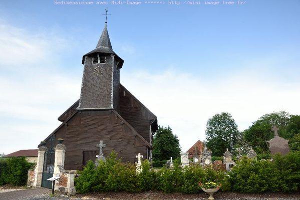 église à pan de bois de Châtillon sur Broué