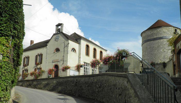 Vandières Mairie Centre Village