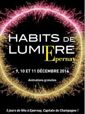 Habits de Lumière 2016 - Epernay