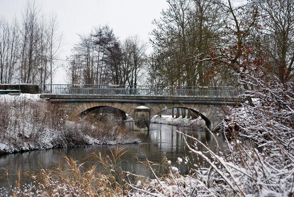Champigneul Champagne en hiver
