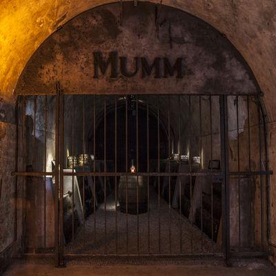 Champagne GH Mumm - Reims
