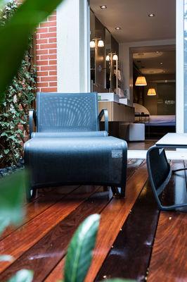 L'Assiette Champenoise - Tinqueux - Suite balnéo terrasse